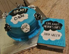 The Fault in Our Stars Cake - Cakes by Michelle. #TFIOS #JohnGreen