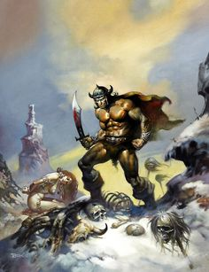 * Boris Vallejo - - - Conan The Conqueror - 1978