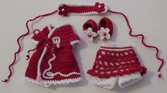 Free Crochet Barbie Dresses | 30 Free Crochet Patterns for Barbie Doll Clothes – Associated