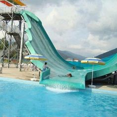 Awesome water slide