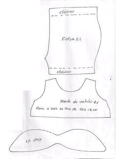 Aprenda a fazer essa Tilda Toy Box super fofa com Elizangela Rodrigues.  Lista de Materiais * Tecido de algodão cru para o corpo * Tecido de algodão estampado para o vestido * Tinta para tecido na cor preto * Pincel * Acessórios de costura  Modo de Fazer 1- Riscar todos os moldes nos …