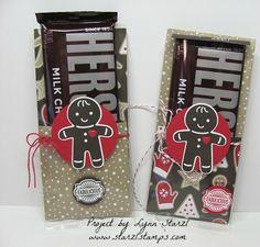 Cookie Cutter  Candy Bar treats