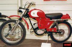 Derbi Trial pirineos 74cc  1966-69 Motocross, 50cc, Dirt Bikes, Cool Bikes, Spanish, Retro, Vehicles, Motorcycles, Guitars