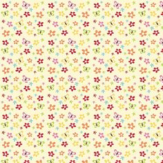 Face Mask Flannel Floral Cream, Soft Cotton, Back of Face Mask Fabric, Mask Your Own Face Mask, Sewi Little Flowers, Tiny Flowers, Mesh Laundry Bags, Quilt Binding, Riley Blake, Craft Kits, Diy Face Mask, Pattern Paper, Flannel