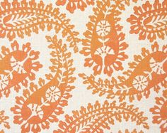 apricot paisley galbraith and paul.  made in america, by hand.  that is slow luxe design.