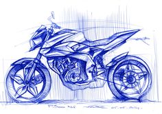 Quick Sketches exploration on an evolution of the BAJAJ Pulsar 200 NS.New technical package with a engine. Bike Drawing, Drawing Sketches, Drawings, Bike Pic, Bike Photo, Bike Sketch, Car Sketch, Motorbike Design, Concept Motorcycles
