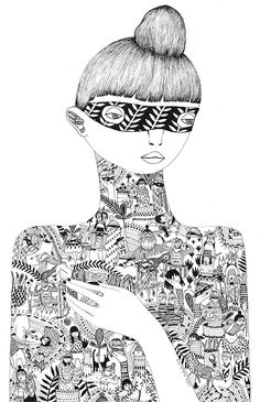 Julia Trybala. Illustrations and sculptures by... - Supersonic Electronic Art