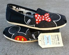 Mickey Mouse Disney Flat Shoes