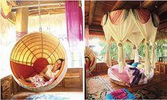 john hardy house in bali - great genie room ideas!