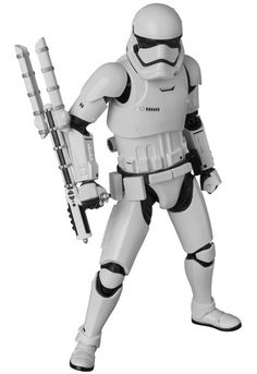 MEDICOM TOY MAFEX Star Wars: The Force Awakens First Order Riot Control Stormtrooper