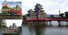 """(Fotos) Em Nagano, o imponente """"Castelo Corvo"""" atrai milhares de visitantes anualmente. Vamos conhecer?"""