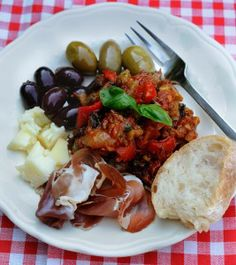 It may take a little prep. but oh my is it worth it?  I say si, si, si!  http://oracibo.com/recipe/caponata-sweet-and-sour-eggplant/