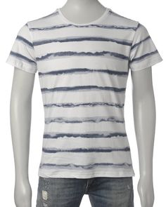 Solid T-skjorte (White/Blue) - Smartguy.no - $160nok