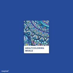 Blue Color Pallet, Color Pallets, Pantone Colour Palettes, Pantone Color, Adult Coloring Pages, Coloring Books, Snapchat Stickers, Blue Whale, Creative Things