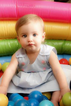 5 Games/Activities for a First Birthday - the ball pit is a must-have!