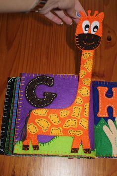 G for Giraffe Quiet Book