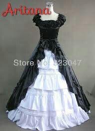 vestido de baile da aritana (Alem do amanha)
