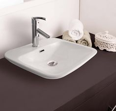 Buy Hindware Median Table Top Basin-91069 in Washbasins through online at NirmanKart.com
