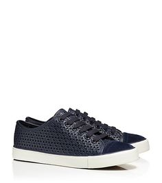 FLORAL PERFORATED SNEAKER