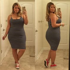 I love how this dress can be casual by wearing sneakers!!!