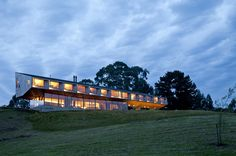 Hotel Refugia - Chiloe, Chile Set against the...   Luxury Accommodations