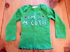 @Megan Greenleaf  Maybe you can help, this is made from a trimmed onesie!