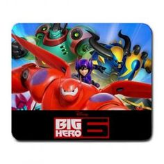 BIG HERO 6 MOVIE LARGE MOUSEPAD $8.99