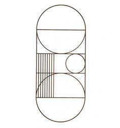 Elegant og tidsløst ophæng fra ferm LIVING.  Laserskåret i eg og med et smukt mønster med inspiration fra Bauhaus og Art Deco perioden. Brug det som et kunstværk for sig selv selv eller find plads på billedvæggen sammen med andre vægdekorationer og illustrationer.  Farve: Eg  Materiale: Røget eg  Mål: B:30xH71 cm