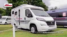 Join Which Motorhome's Peter Vaughan at the 2016 Adria launch event, with reviews of new Twin, Compact, Matrix models (including their 50th Anniversary model...