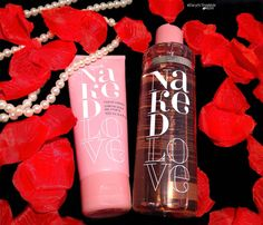 Mark Cosmetics Naked Love Bath and Body Collection, This smells sooo Good!!