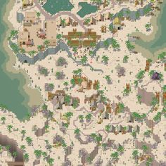 RPG Maker map by Veres