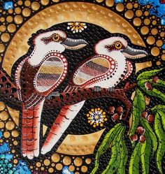 View the largest range of contemporary Aboriginal art and artefacts in Sydney. Aboriginal Art Australian, Aboriginal Art Animals, Aboriginal Art Symbols, Aboriginal Dot Painting, Indigenous Australian Art, Aboriginal Artists, Indigenous Art, Aboriginal Tattoo, Aboriginal People