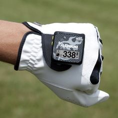 for the golfer -- how many feet to the hole via GPS