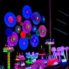 Festa Neon: dicas e ideias para fazer! - Guia Tudo Festa - Blog de Festas - dicas e ideias!