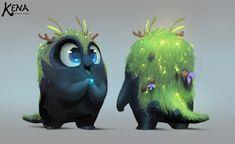 ArtStation - Hero Rot and The Rot, Kun Vic Creatures 3, Creature Concept, Character Design Inspiration, Creature Design, Illustration Art, Lion Sculpture, Hero, Statue, Artwork