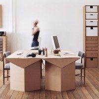 Eco-tendencias: muebles de cartón para toda la casa