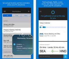Cortana chega oficialmente ao Android e iOS