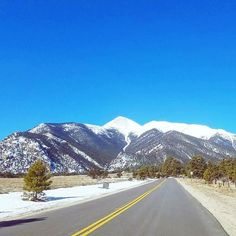 Weekend in the Rocky Mountains is always a good idea. Here's Mount Princeton (14196ft / 4327m) on a bluebird day yesterday. If you're in the area don't miss a relaxing soak in the hot springs! (via Instagram)