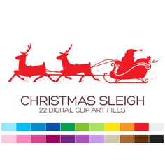 Christmas Clipart for Personal & Commercial Usage  by coloryourway