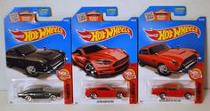 Hot Wheels Aston Martin Then and Now 3 Car Bundle Lot Red Black DB5 DBS #HotWheels #AstonMartin