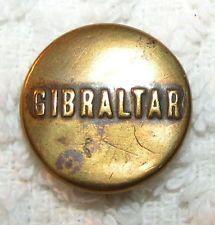 Gibraltar Brand - Brand Wobble Shank Workwear/Overall Button