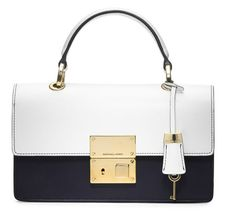 Michael Kors Middleton Colorblock Flap Bag