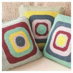 cushions crochet - Buscar con Google