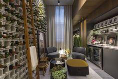 """Ambiente """"Adega de concreto"""" por TriArt Arquitetura para Casa Cor SP 2016! Confira mais fotos no Portal MiMostra!"""