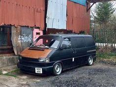 T4 Camper, Campers, Volkswagen Transporter T4, Rat Look, Combi Vw, The Boogie, Van Home, Love Car, Slammed