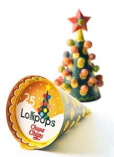 Chupa Chups Advent Calendar Christmas Tree