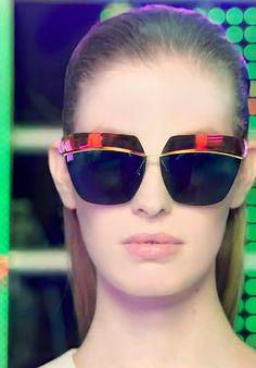 "Dior ""Diormetallic"" Sunglasses"
