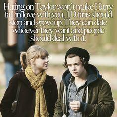 Stop the hate. They're humans, they have emotions. Hating on Haylor won't make them break up so just grow up and stop the hate.