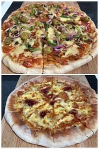 How do you like your pizzas? Check my pizzas: Brie and cranberry pizza Mushrooms, olives, red onions and green pepper pizza. Delicious Pizza Dough Recipe, Peppers Pizza, Different Types Of Bread, Vegetarian Pizza, How To Make Pizza, Stuffed Green Peppers, Brie, Olives, My Recipes