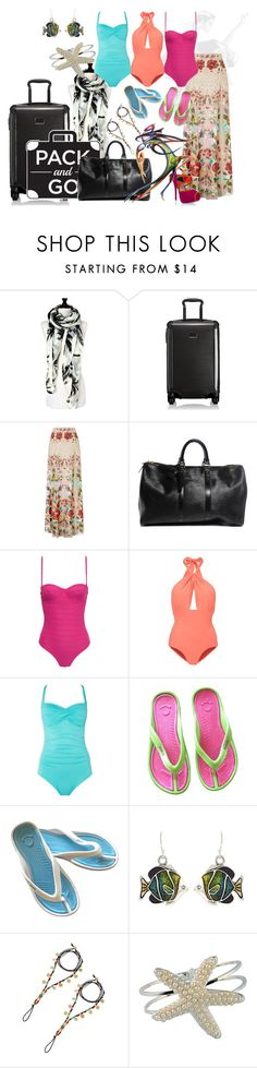 """""""Rio"""" by shoppe23online on Polyvore featuring Salsa, Tumi, Temperley London, Louis Vuitton, Prism, Lilliput & Felix and Seafolly"""